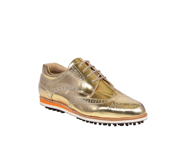 """TRENTO"" Damenschuh in gold"